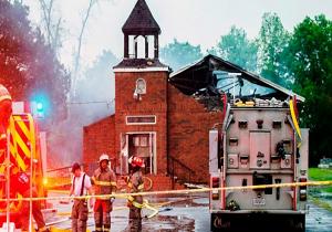بازداشت مظنون آتش سوزیهای اخیر در کلیساهای لوئیزیانای آمریکا