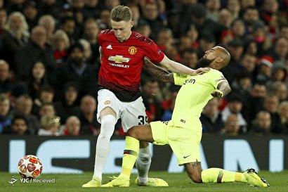 لیگ قهرمانان اروپا/ منچستر یونایتد ۰ - بارسلونا ۱