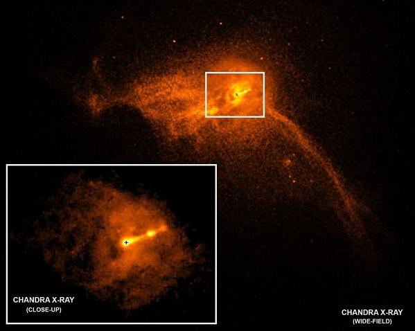 اولین تصویر واقعی از یک سیاه چاله