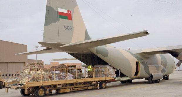 محموله بزرگ کمکهای انسان دوستانه عمان وارد کشورمان شد