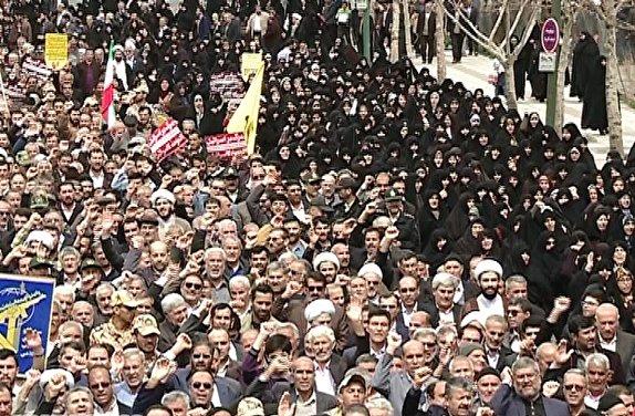 باشگاه خبرنگاران - راهپیمایی زنجانی ها در حمایت از سپاه پاسداران انقلاب اسلامی + تصاویر