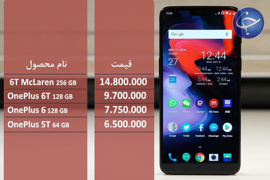 آخرین قیمت تلفن همراه در بازار (بروزرسانی ۲۴ فروردین) +جدول