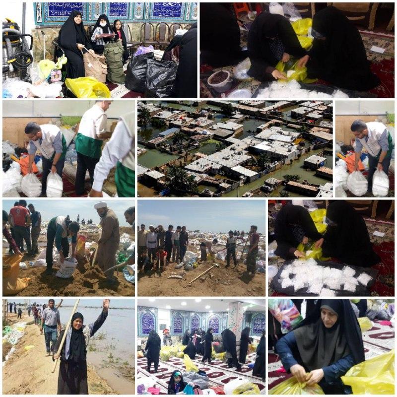 آخرین اخبار از مناطق سیلزده شنبه ۲۴ فروردین ماه+تصاویر