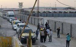 ورود اعضای کاروان بزرگ کمک های مردمی عراق به ایران و استقبال مسئولان