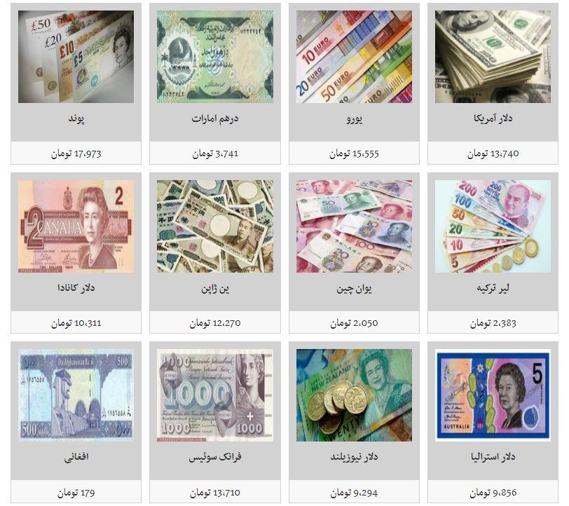 نرخ تمامی ارزها کاهش یافت/ بازگشت دلار به کنال ۱۳ هزار تومان