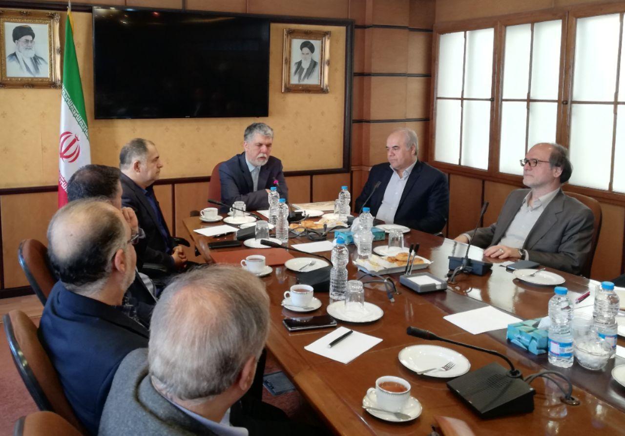 معاونت امور مطبوعاتی و اطلاع رسانی در میدان جهاد ملی قرار دارد
