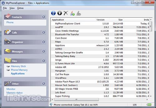 دانلود برنامه MyPhoneExplorer 1.0.59 اتصال حرفهای گوشی به کامپیوتر و مدیریت فایلها در اندروید