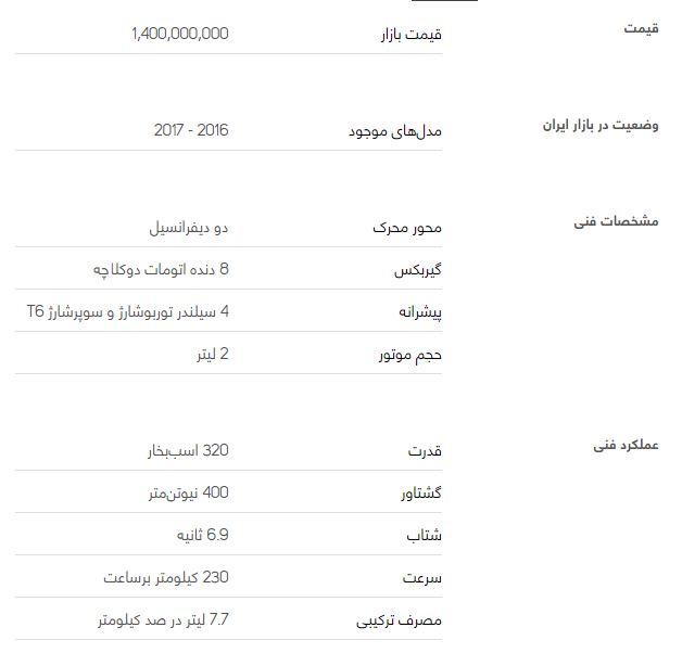 بررسی خودرو ولوو XC90 + قیمت
