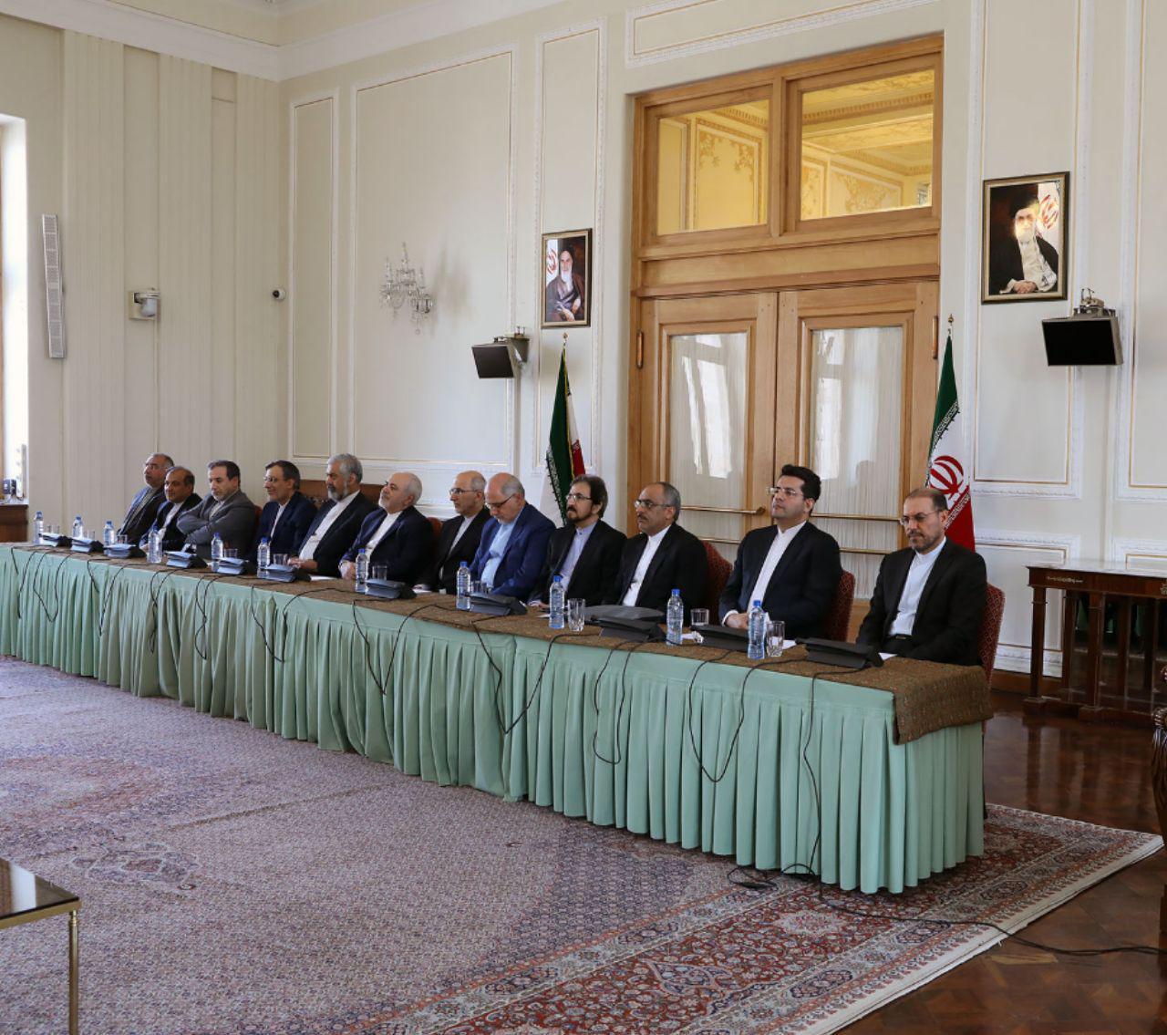 مراسم تودیع و معارفه مدیران جدید وزارت امور خارجه