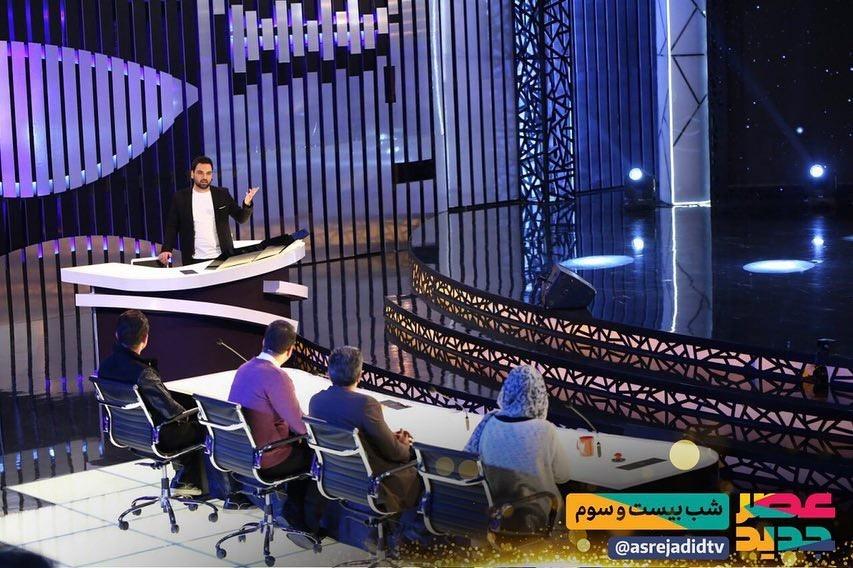 اجرای جذابی که نه با رای داوران بلکه با رای احسان علیخانی به فینال «عصر جدید» رفت! / شرکت کننده خلاقی که یکی از داوران را غافلگیر کرد + فیلم