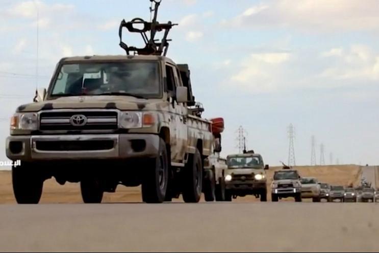 تسلیم شدن دهها نیروی حفتر به دولت وفاق ملی در جنوب طرابلس