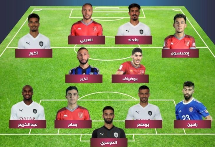 رضاییان تنها ایرانی تیم منتخب فصل لیگ ستارگان قطر