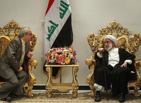 صندلی مجلل آیت الله جنتی از عراق سر در آورد +تصویر