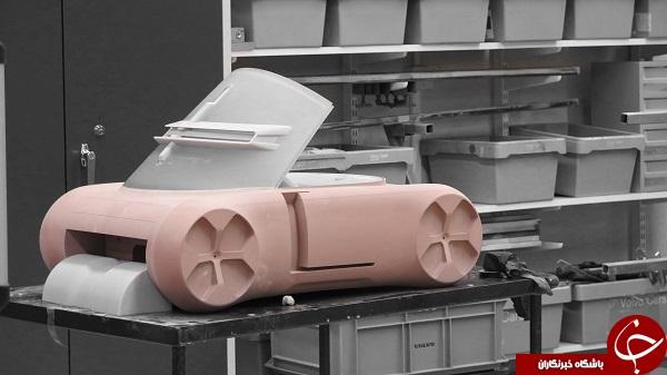 آیا خودرو عجیب ولوو میتواند وسیله نقلیهای مناسب برای تردد در شهرهای آینده باشد؟