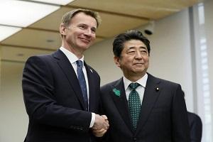 درخواست شینزو آبه از نخست وزیر انگلیس برای کاهش تأثیر منفی برکسیت بر شرکت های ژاپنی