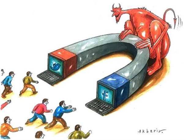 عوامل گرایش به شبکه های اجتماعی