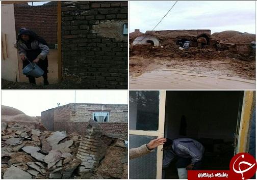 تصاویری از خسارت سیل در خراسان جنوبی