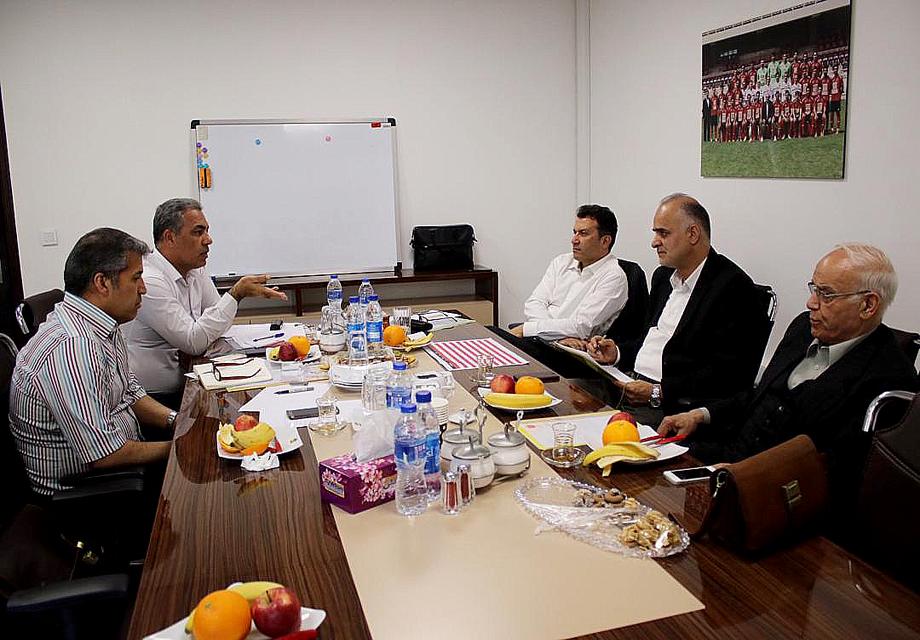 هیئت مدیره پرسپولیس تشکیل جلسه داد