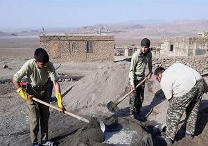 فعالیت گروههای جهادی سمنان در روستاهای پلدختر