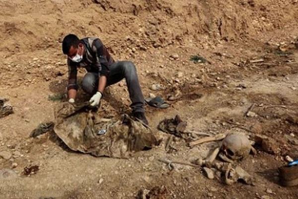 کشف گور جمعی ایزدیها در عراق