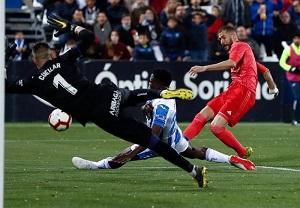 هفته سی و دوم لالیگای اسپانیا لگانس 1 - رئال مادرید 1/نایبقهرمانی دورتر شد