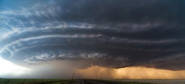 طوفان آخرالزمانی در تگزاس + فیلم