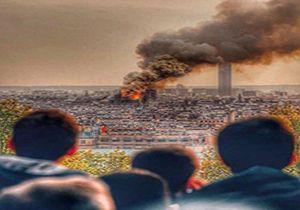 دعا خواندن مردم فرانسه برای کلیسای نوتردام + فیلم