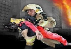 نجات ۵ نفر با تلاش آتش نشانان همدانی