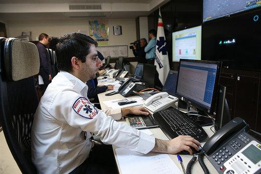 راه اندازی سرویس اعلام منطقه تماس افراد با اورژانس ۱۱۵