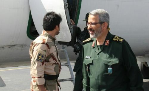رئیس سازمان بسیج مستضعفین از وضعیت مناطق سیلزده استان ایلام بازدید کرد