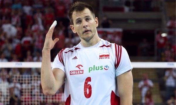 مصدومیت ستاره والیبال لهستان