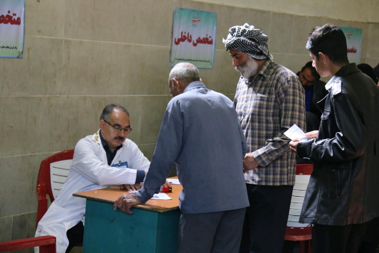 عملیات مردمیاری ساخت بیمارستان تخصصی صحرایی در معمولان +تصاویر