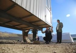 جمع آوری کانکس های مناطق زلزله زده