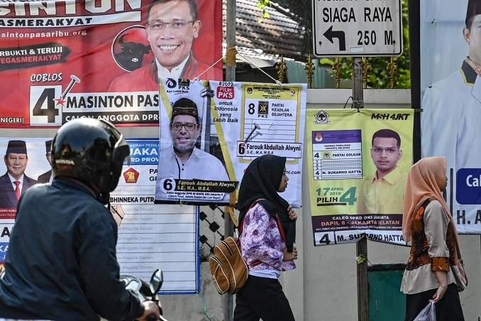 آغاز رای گیری انتخابات ریاست جمهوری در اندونزی