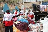 باشگاه خبرنگاران - ارسال ۳ تن مواد غذایی از مراغه به شهر آق قلا