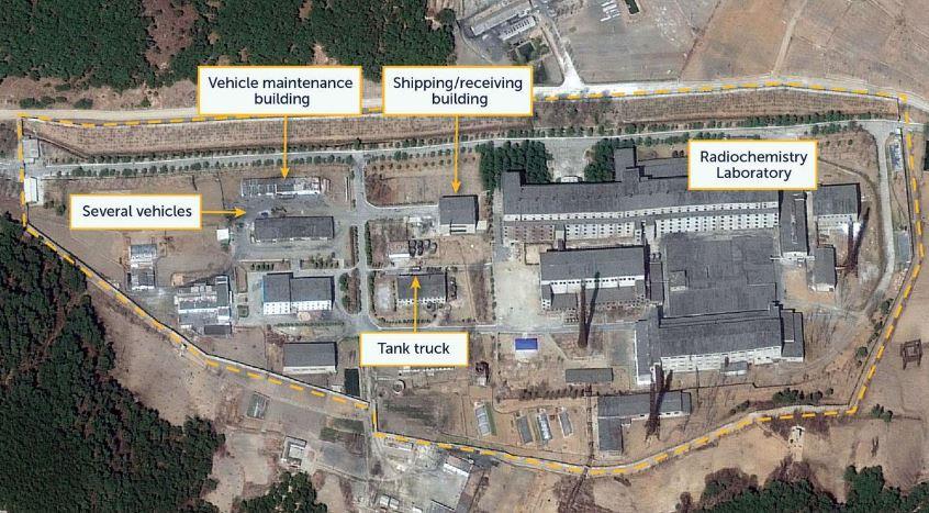بازفرآوری مواد رادیواکتیو برای تولید سوخت هستهای در کره شمالی