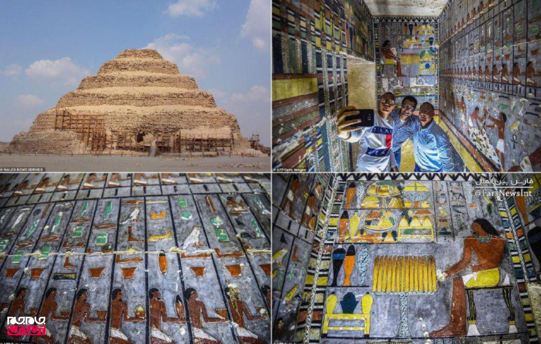 کشف  مقبرهای در مصربا قدمت ۴۳۰۰ سال +عکس