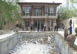 باشگاه خبرنگاران - تخریب ویلاهای غیرمجاز در بستر زاینده رود + فیلم