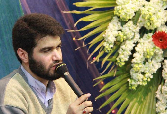 حضور مداح معروف در شهر پلدختر به مناسبت ولادت حضرت علی اکبر