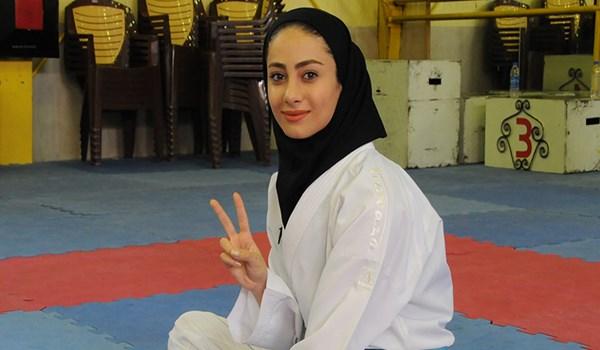 کسب مدال کاراته کار گیلانی در رقابتهای آسیایی
