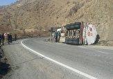 باشگاه خبرنگاران - واژگونی ۳ تانکر حامل مواد شیمایی در استان کردستان