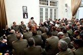 باشگاه خبرنگاران -فرماندهان و مسئولان ارشد ارتش با رهبر انقلاب دیدار کردند