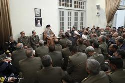 دیدار فرماندهان ارتش با فرمانده کل قوا