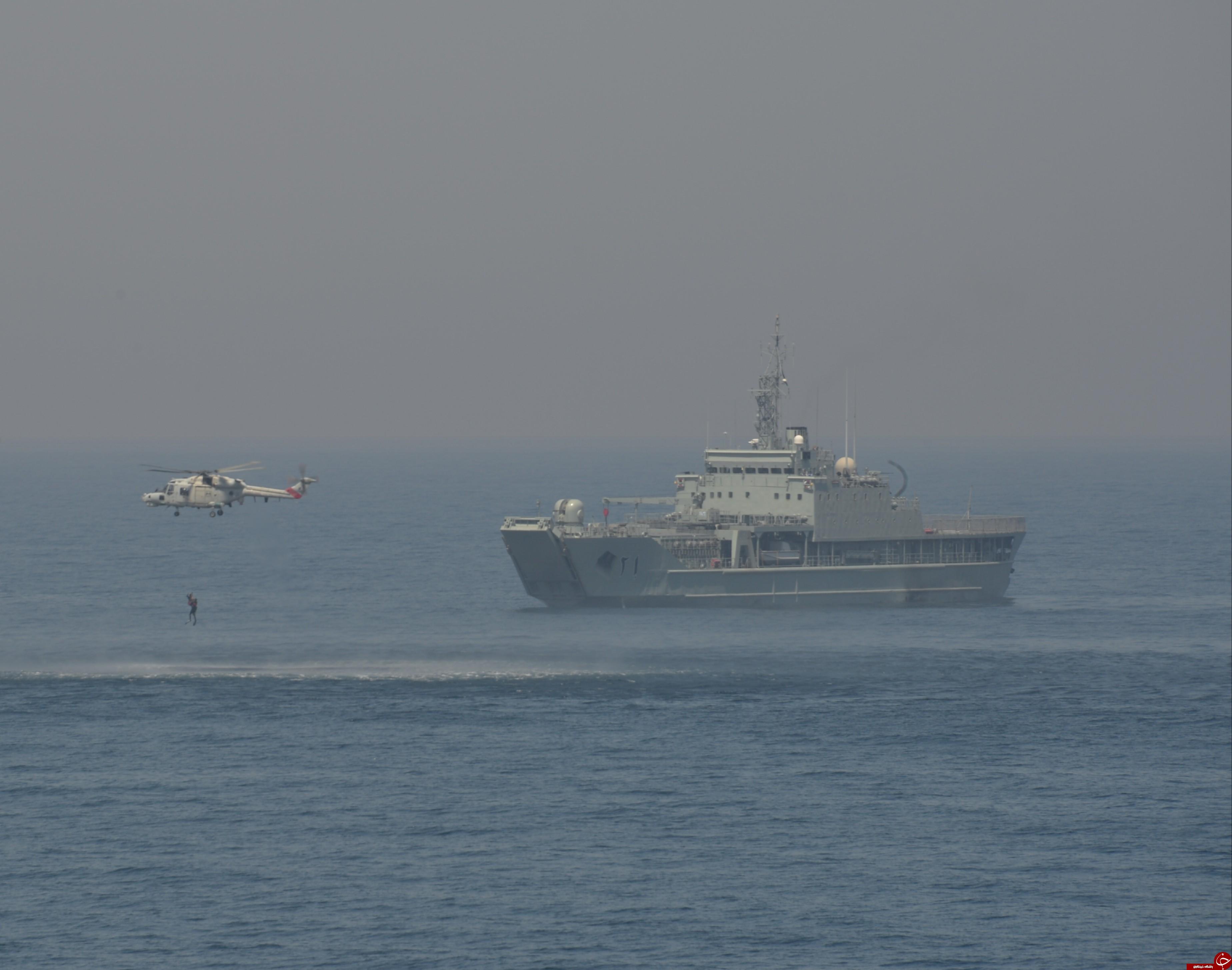 رزمایش بزرگ نظامی ایران و عمان برگزار شد