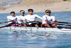 تست پایان اردوی تیم ملی روئینگ آقایان در دریاچه آزادی