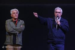 کنایه ابراهیم حاتمیکیا به اظهارنظرهای رضا کیانیان! + فیلم