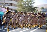 باشگاه خبرنگاران - برگزاری مراسم رژه نیروهای مسلح در کردستان