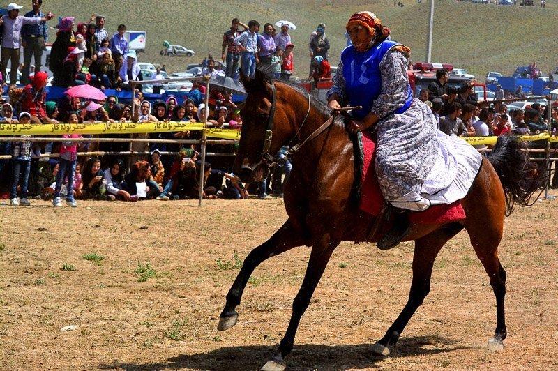 برگزاری جشنواره فرهنگی ورزشی عشایر قرهقیه در کلیبر