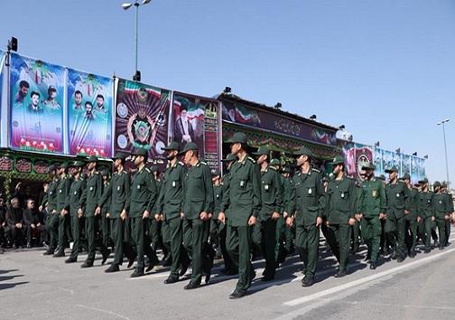 رژه نیروهای مسلح در آذربایجان شرقی