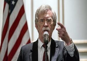 بولتون: تحریمهای جدید آمریکا علیه ونزوئلا هشداری برای روسیه است